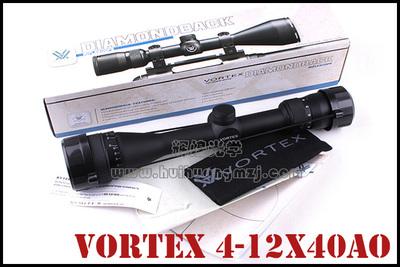 进口 VORTEX 4-12X40AO DBK-412B