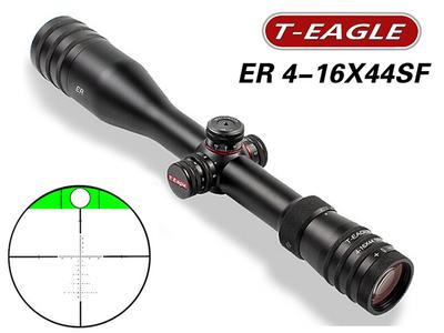 突鹰T-EAGLE ER系4-16X44SF内置水平装置 军规风偏数字分化