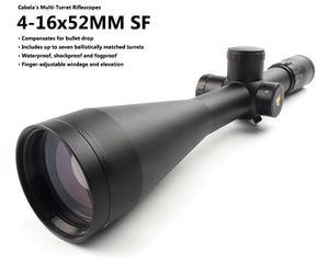 进口 坎贝拉Cabela 4-16x52 侧调焦 瞄准镜