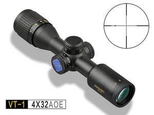 发现者VT-1 4X32AOE 定倍短瞄 密位点分化 前调焦 红绿双光 高清抗震