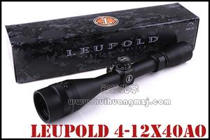 进口流坡LEUPOLD Mark AR MOD4-12X40AO 高抗震瞄准镜